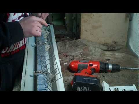 Scrapping A Electric Baseboard Heater & Shout Outs