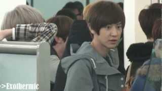 121201 EXO Hong Kong Airport
