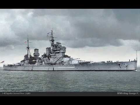 1939 HMS KING GEORGE V WW2 Battleship history and facts