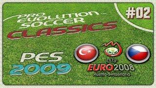 PES CLASSICS ★ PES 2009 ★ Türkiye vs Çek Cumhuriyeti | EURO 2008 | PS3 | Türkçe / Turkish | #02