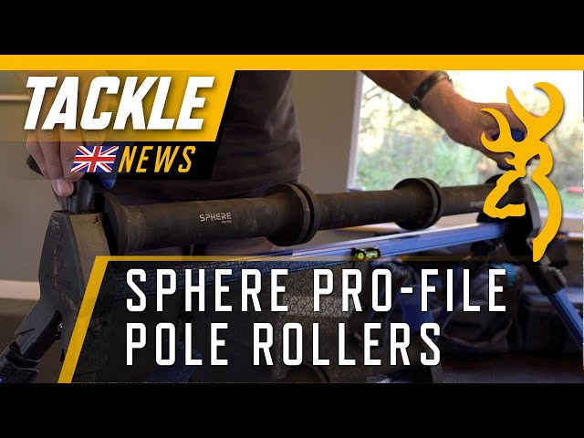 Sphere Pro-File Pole Rollers : The Ultimate Rollers for Pole Fishing.