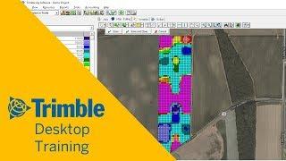 Üreten Basit VRA Rx Haritalar | Masaüstü Eğitim | Trimble Ag Yazılım