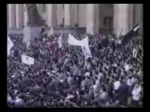 April 9, 1989 Massacre of Women in Tbilisi by Russians