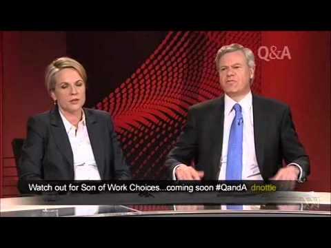 Q&A: George Brandis & Michael Kroger Vs Tanya Plibersek on economic reform