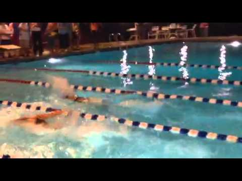Holland 50 Fly Win and Personal best vs. Fields Club