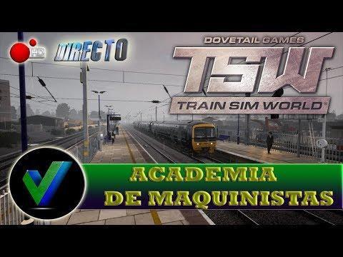 DIRECTO Train Sim World,DLC Great Western Express, Academia de Maquinistas
