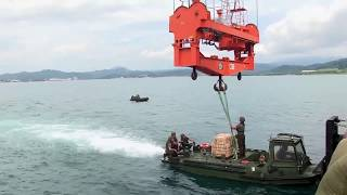 Phiblex 15 - USNS Sacagawea Offload Ammunition in Subic Philippines