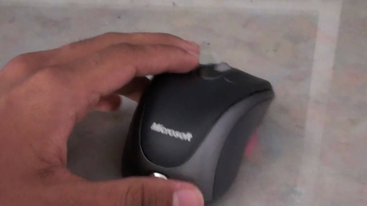2797bea631f Review Microsoft Wireless Notebook Optical Mouse 3000 (HD) 1080p ...