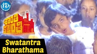 Shanti Kranti Movie - Swatantra Bharathama Video Song    Nagarjuna    Juhi Chawla    Hamsalekha