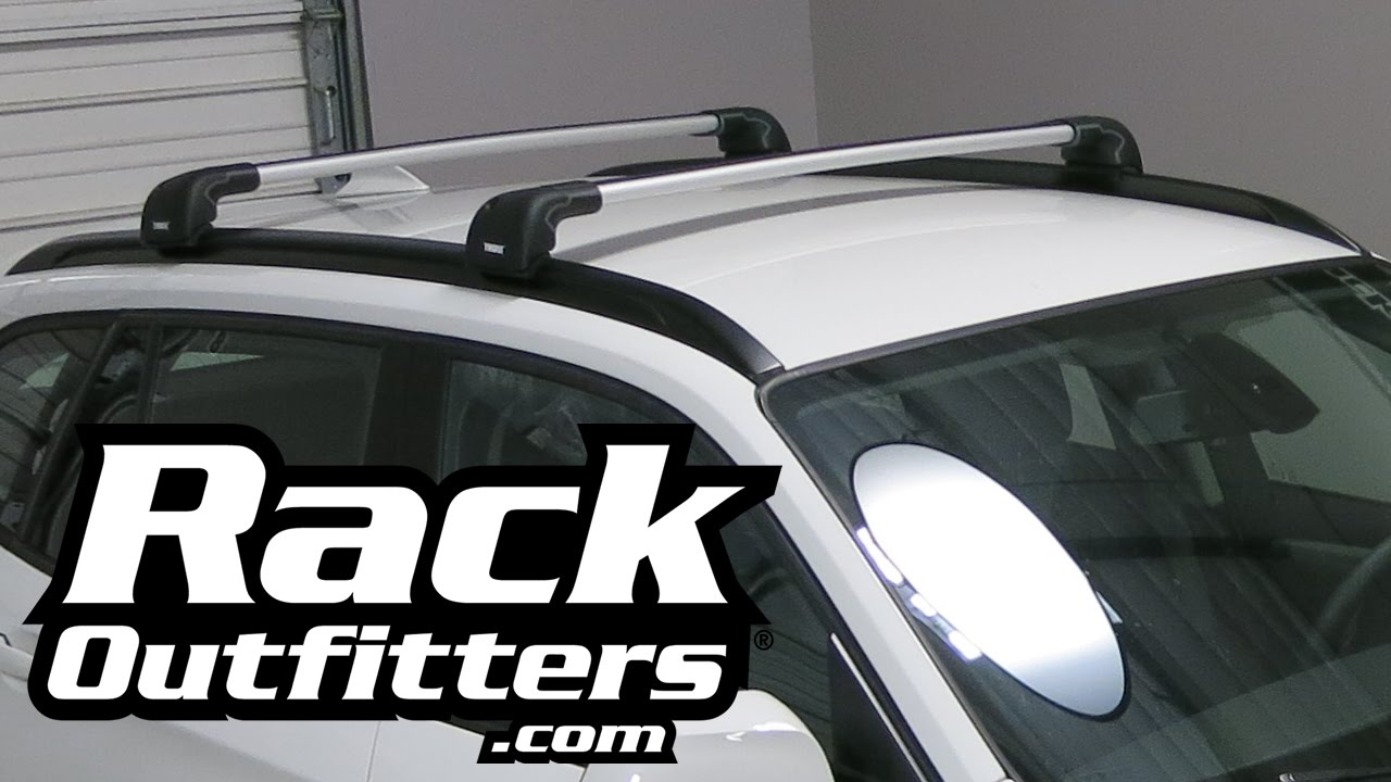 NEW BMW X1 Thule SILVER AeroBlade EDGE Base Roof Rack U002711 U002715*   Rack  Outfitters