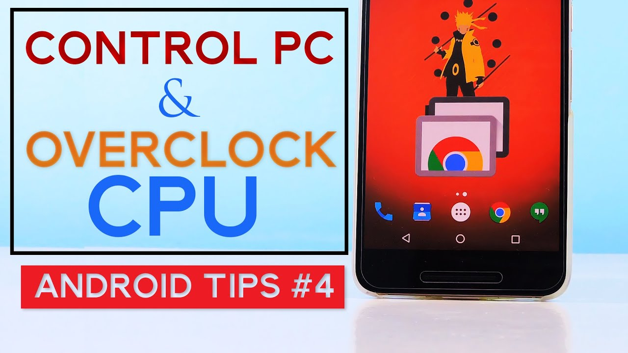 Phone Remote Desktop Using Android Phone control pc using your phone remote desktop overclocking android phones cpu tips 4