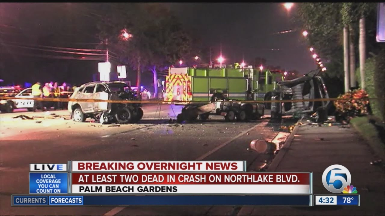 At least 2 killed in Palm Beach Gardens crash