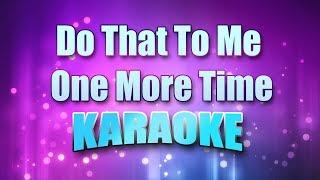 Captain & Tennille - Do That To Me One More Time (Karaoke & Lyrics)