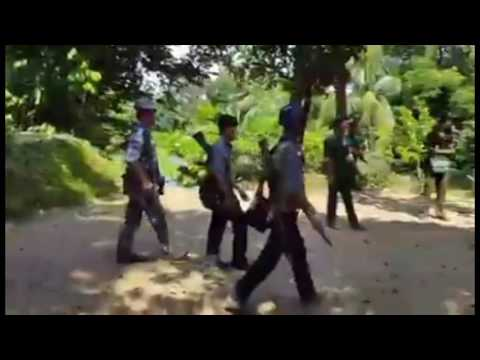 Myanmar Military Operation in Maungdaw