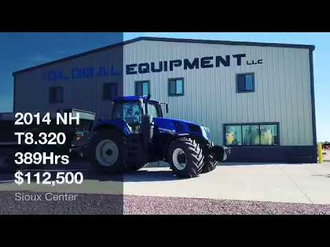 2014 NH T8.320 Tractor Https://www.global-equipment.com/new-holland-t8-320.html