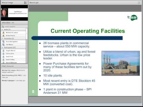 Overview of the CA Biomass Power Industry - Past, Present & Future: Tad Mason