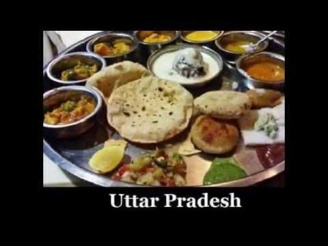 all food types in indian states