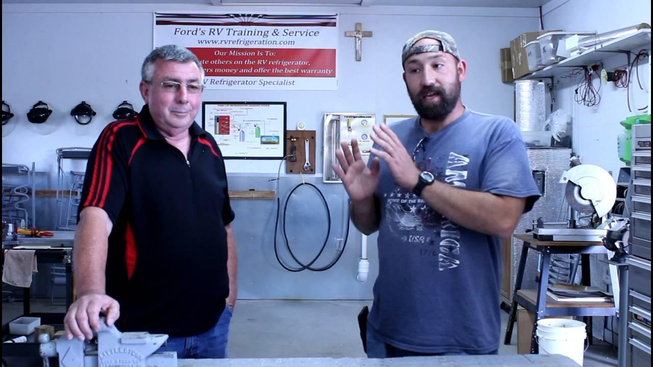 Ford S Rv Refrigeration Is Training Rv Refrigerator Repair