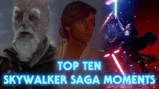 The Top Ten Moments From the Skywalker Saga