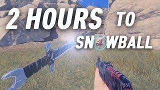 RUSTㆍ2 Hours to SNOWBALL (1/3)