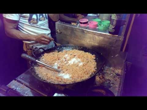 Indonesian Street Food: Fried Rice (Nasi Goreng) @Braga Culinary Night, Bandung (Jan 25, 2014)