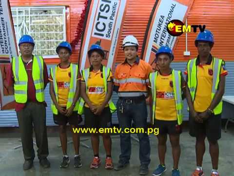 ICTSI South Pacific PNG Palais visit Motukea International Terminal