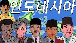 한번에 살펴보는 인도네시아 역사