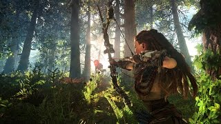 Horizon Zero Dawn 20 Minutes of Gameplay Walkthrough 1080p Horizon Zero Dawn Gameplay Demo