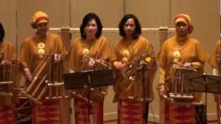 Rek Ayo Rek by House of Angklung DC, Indonesian Art Event, University of Indiana, 2012