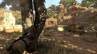 Sniper Elite 3 Afrika Gameplay Trailer (PC Download)