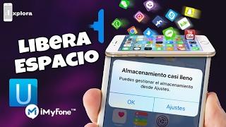 Tutorial para liberar memoria en iphone con Umate pro de imyfone mas licencias de regalo