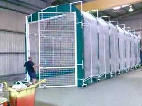 & Amazing Retractable Spray Booth - YouTube