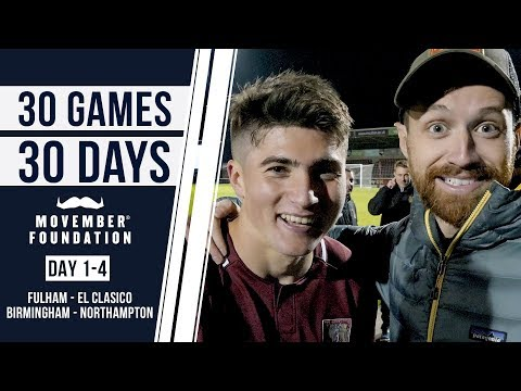WATCHING SCOTTY P & PRESENTING EL CLASICO! - #30GAMES30DAYS EP1