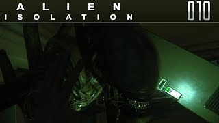 👽 ALIEN ISOLATION [010] [Es kann Dich riechen] Let's Play Gameplay Deutsch German thumbnail