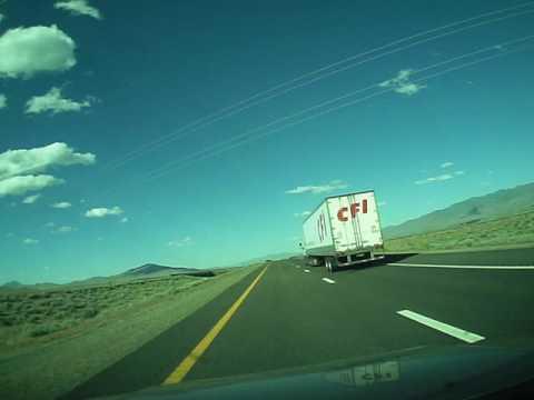 Reno, NV to Elko, NV Timelapse