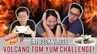 finish this tom yum in 15 mins and it is free jj thai   taste testers   ep 38