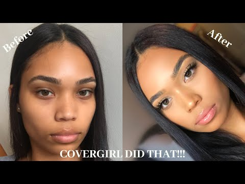 FLAWLESS DRUGSTORE FOUNDATION| NEW COVERGIRL MATTE MADE  FOUNDATION REVIEW | Briana Monique'