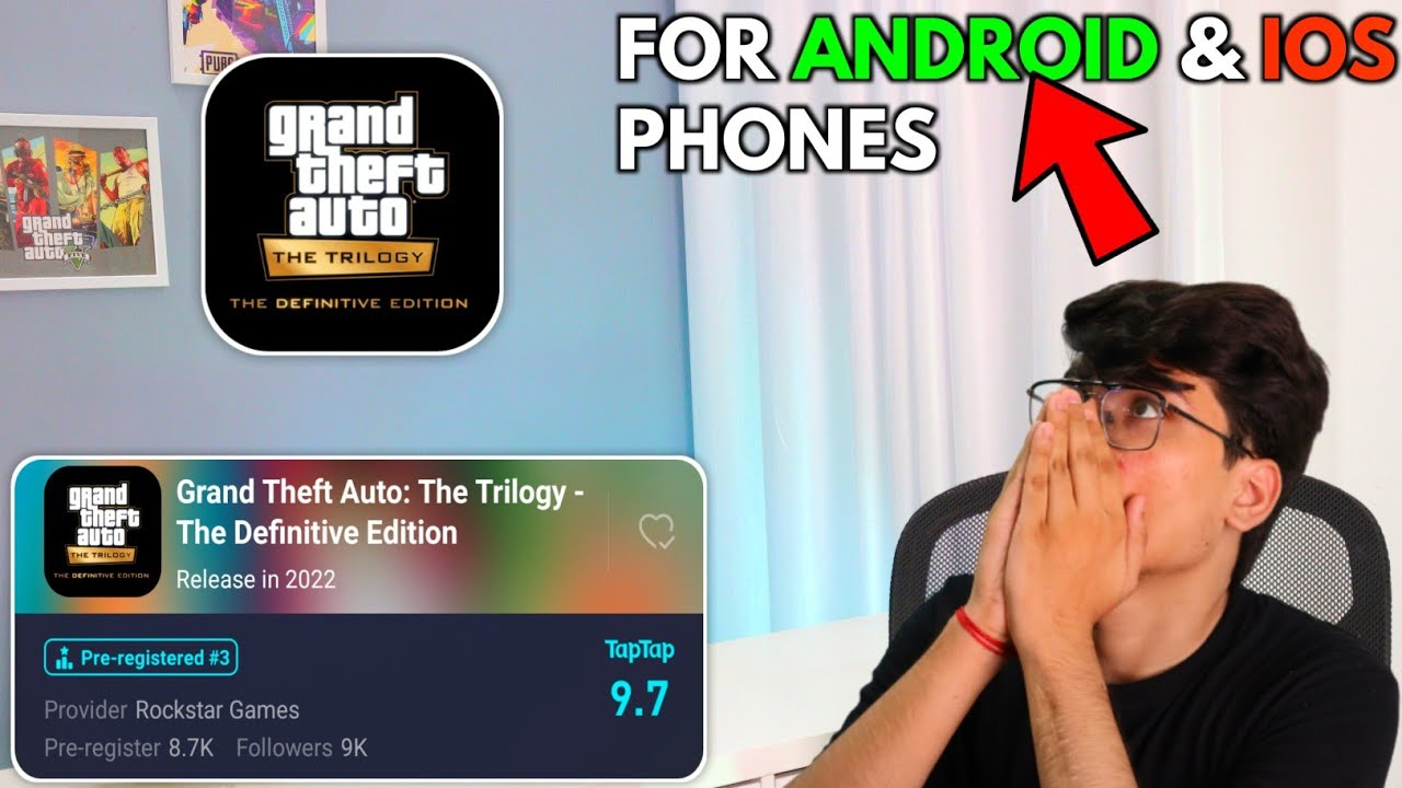 GTA : Trilogy for Android/iOS Download | Full Information + Register Now 😍