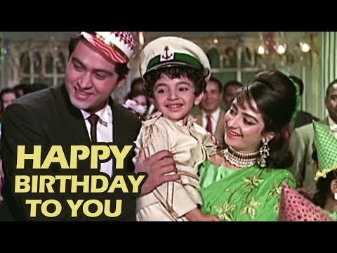 Hum Bhi Agar Bachche Hote, Happy Birthday To You - Johnny Walker | Kids Song | Door Ki Awaaz