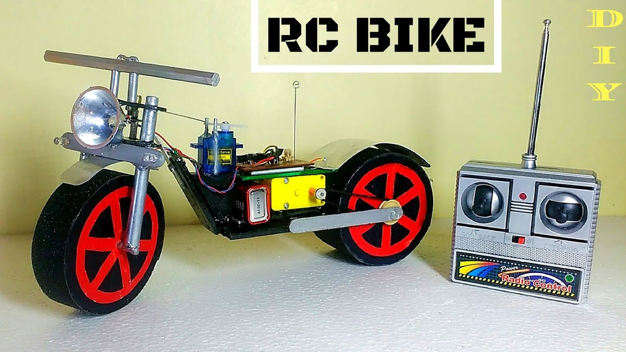 How To Make Rc Motorcycle At Home Version 2 Easy And Fast
