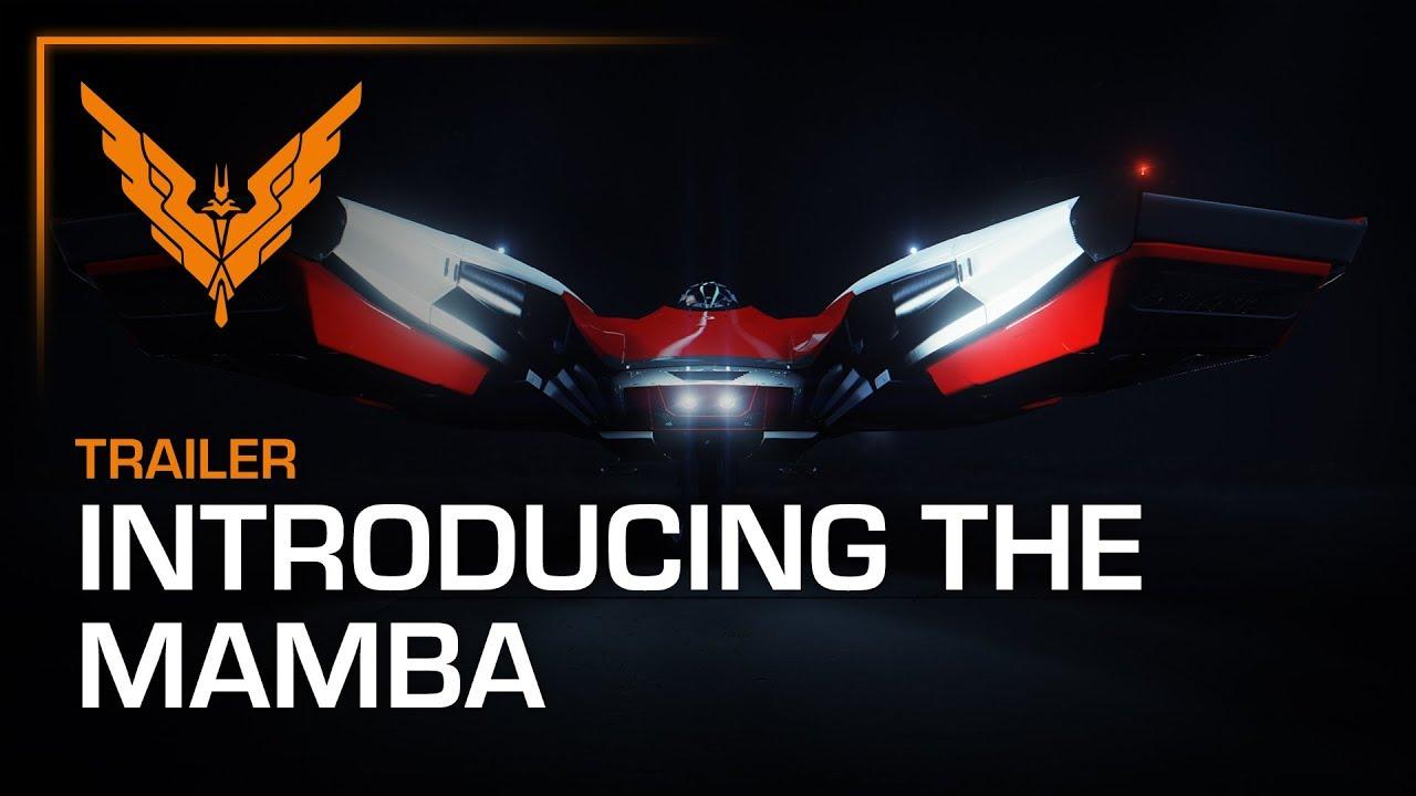 Here's Elite Dangerous' sleek new ship, the Mamba