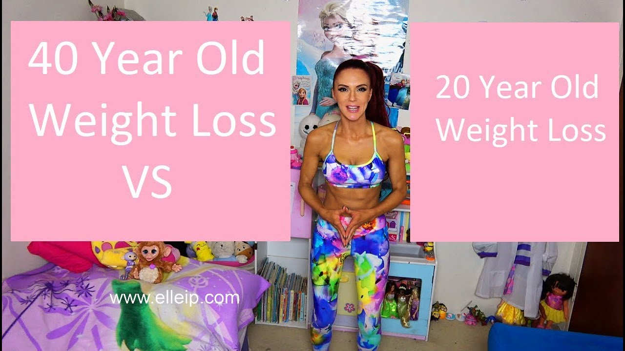 losing weight 40 year old woman