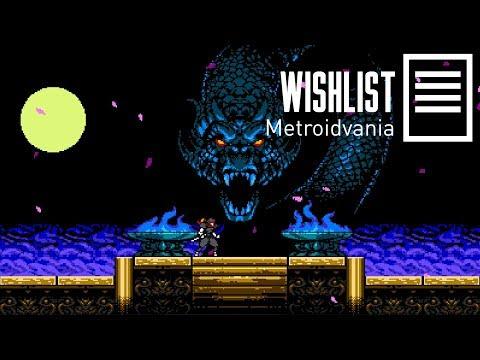 Listão Metroidvania - Wishlist