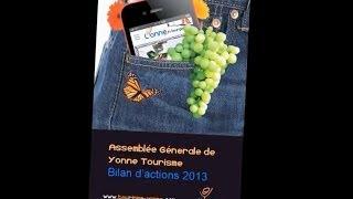 Les actions de Yonne Tourisme en 2013
