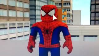 SKACEM AROUND THE CITY LIKE A MADMAN-ROBLOX SPIDER-MAN ADVENTURE