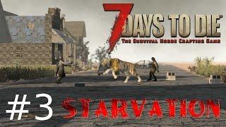 7 Days to Die: Starvation #3 Lwy, tygrysy i niedźwiedzie