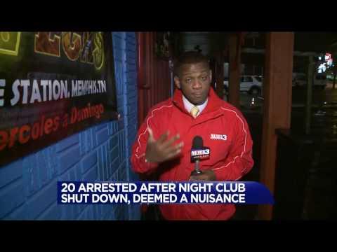 Memphis bar shut down for underage prostitution