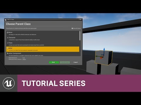 C++ Battery Collector: Making Your First Pickup Class | 03 | V4.9 Tutorial Series | Unreal Engine