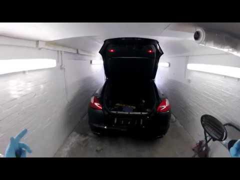 How to remove replace  rear lights PORSCHE PANAMERA 4  /cum demontam stopurile de pe spate