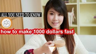 How to get 1000 dollars fast videos / Page 2 / InfiniTube